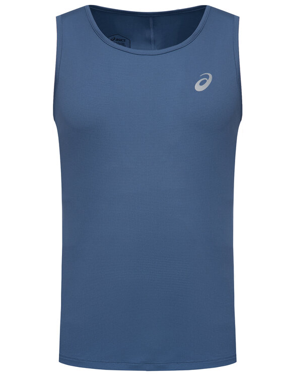 Asics Asics Technisches T-Shirt Silver Singlet 2011A011 Blau Regular Fit