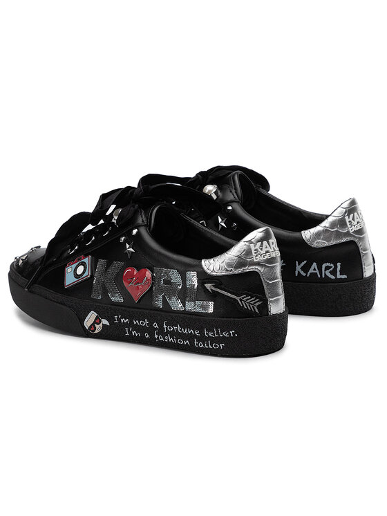 KARL LAGERFELD KARL LAGERFELD Sneakersy KL60115 Czarny