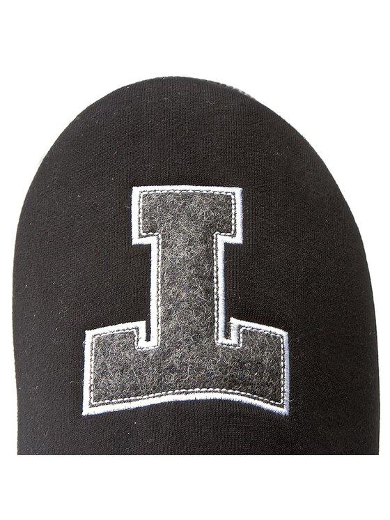 TOMMY HILFIGER TOMMY HILFIGER Naminės šlepetės Cornwall 1D FM56822117 Juoda