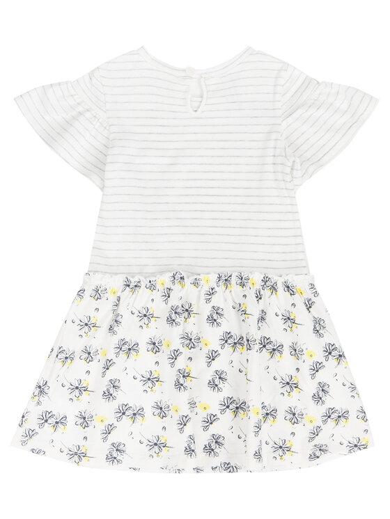 Primigi Primigi Ежедневна рокля Little Gipsy Soul 43111521 Бял Regular Fit