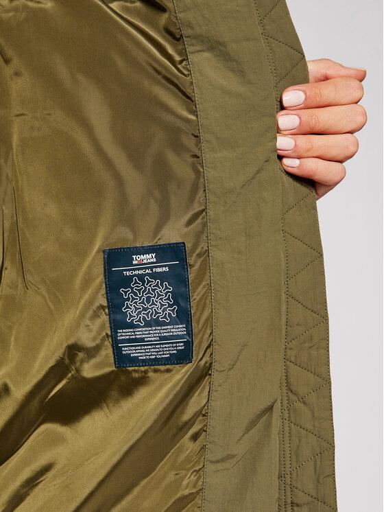 Tommy Jeans Tommy Jeans Vatovaná bunda Modern DW0DW09067 Zelená Regular Fit