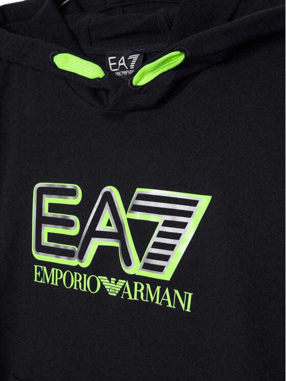 EA7 Emporio Armani EA7 Emporio Armani Bluza 6HBM52 BJ05Z 1200 Czarny Regular Fit