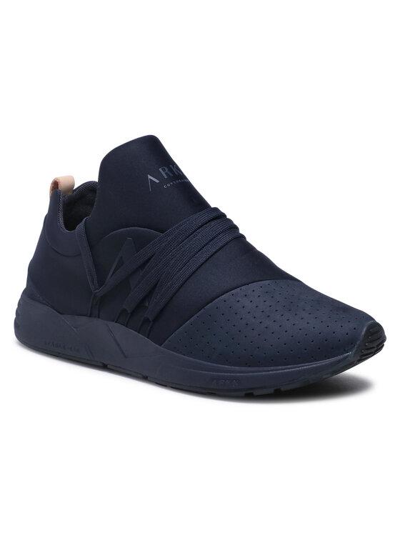 ARKK Copenhagen Laisvalaikio batai Raven Nubuck S-E15 CR1412-0052-M Tamsiai mėlyna