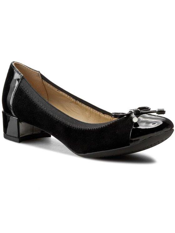 Geox Geox Κλειστά παπούτσια D Carey A D54V8A 021HH C9999 Μαύρο