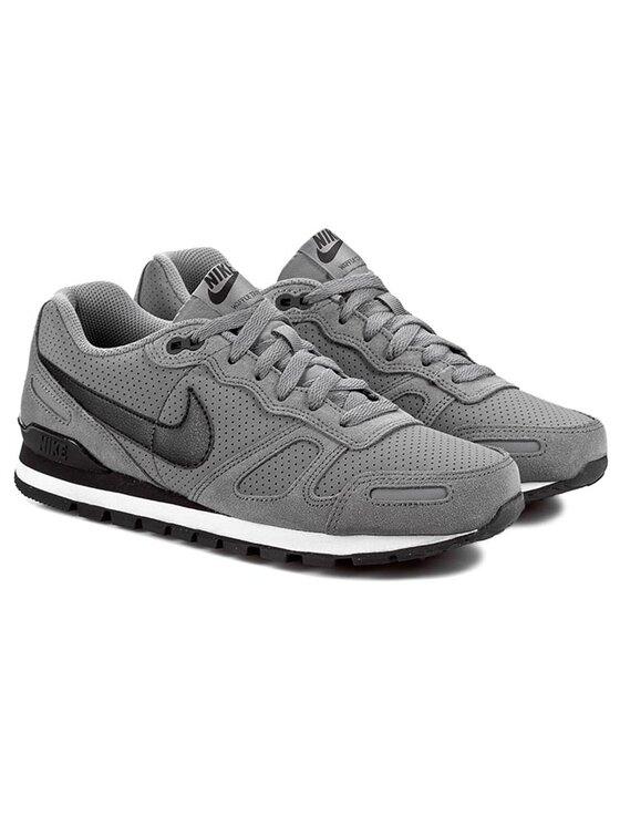 Nike Nike Scarpe Air Waffle Trainer Leather 454395 091 Grigio