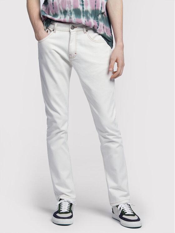 Vistula Jeansy Ego White RX1034 Biały Slim Fit