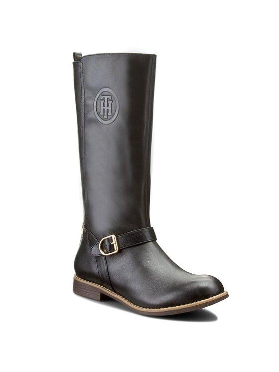 Tommy Hilfiger Tommy Hilfiger Μπότες Ιππασίας Aubrey 4C1 FG56821847 Μαύρο