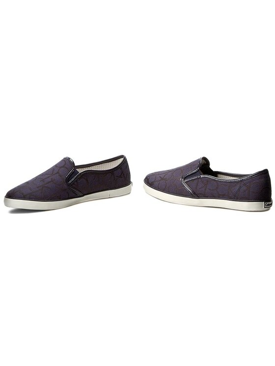 Calvin Klein Jeans Calvin Klein Jeans Πάνινα παπούτσια Raz RE9178 Σκούρο μπλε