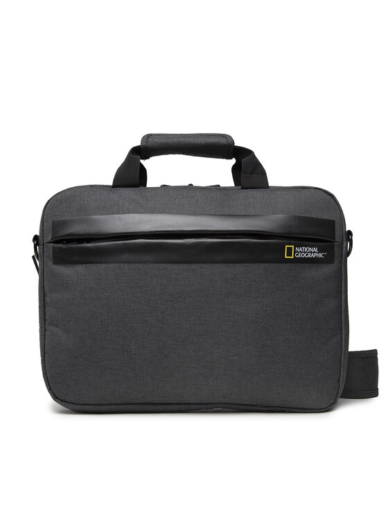 National Geographic National Geographic Torba na laptopa Brief Case N13106.89 Szary