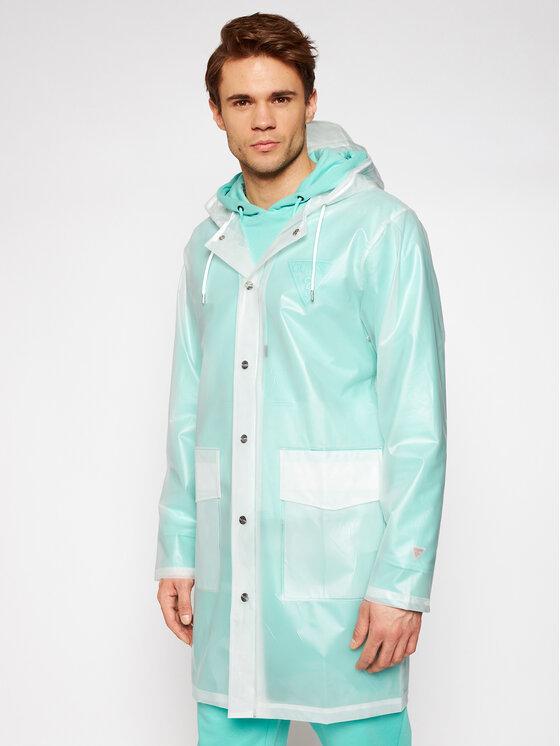 Rains Rains Kurtka przeciwdeszczowa Unisex 1269 Biały Regular Fit