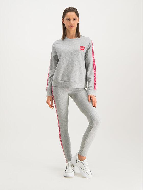 Calvin Klein Underwear Calvin Klein Underwear Mikina 000QS6320E Sivá Regular Fit