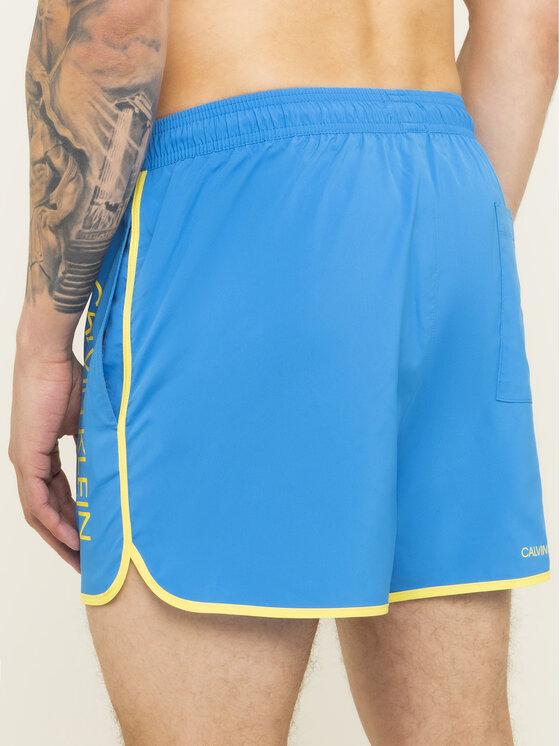 Calvin Klein Swimwear Calvin Klein Swimwear Úszónadrág KM0KM00389 Kék Regular Fit