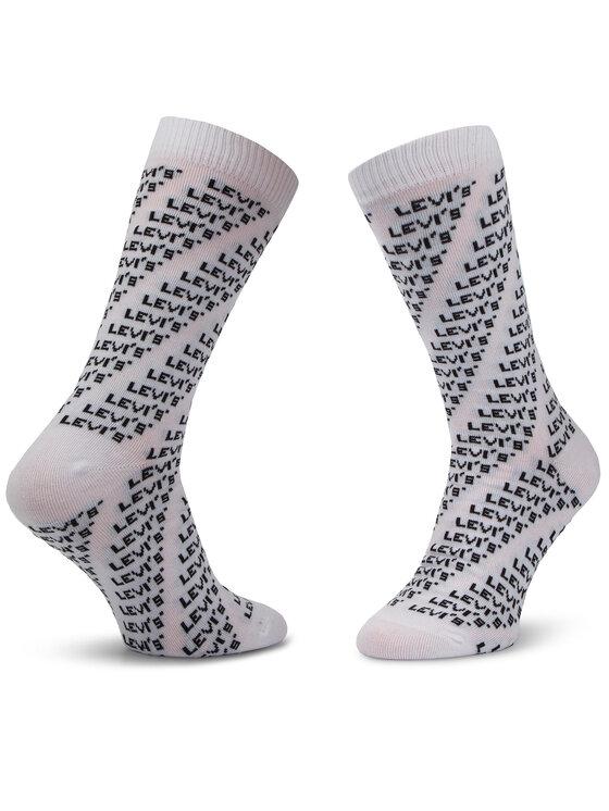 Levi's® Levi's® Set di 2 paia di calzini lunghi da uomo 983023001 Nero