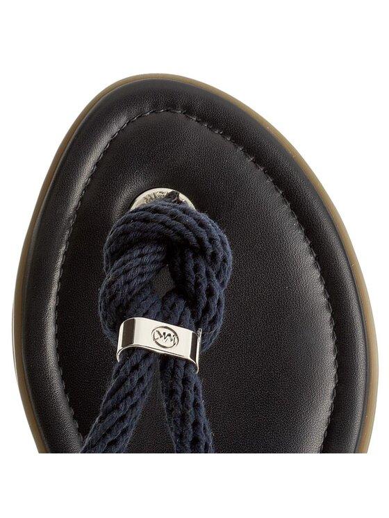 MICHAEL Michael Kors MICHAEL Michael Kors Tongs Holly Sandal 40T5HOFA2L Bleu marine