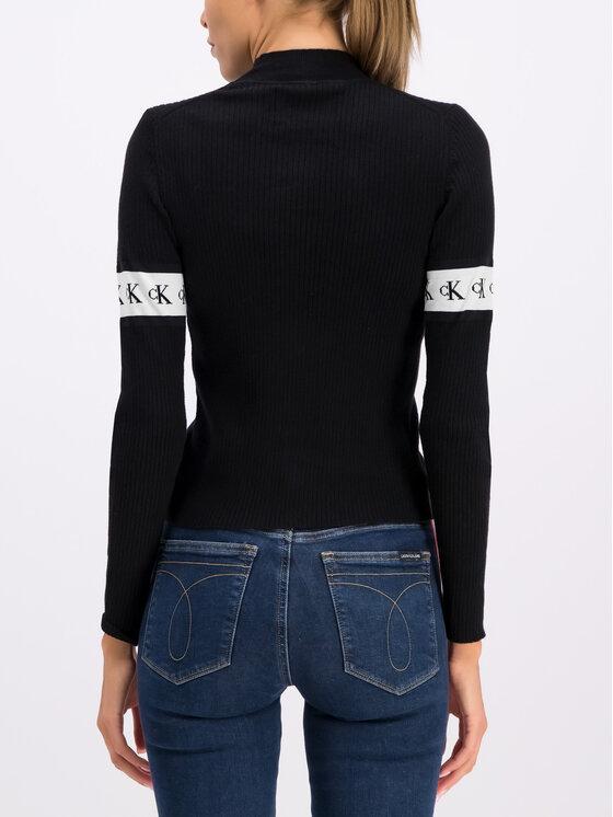 Calvin Klein Jeans Calvin Klein Jeans Поло J20J212149 Черен Slim Fit