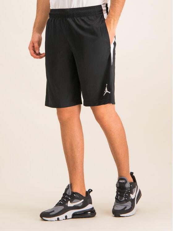 Nike Nike Pantaloni scurți sport Jordan Alpha Dry 905782 Negru Regular Fit