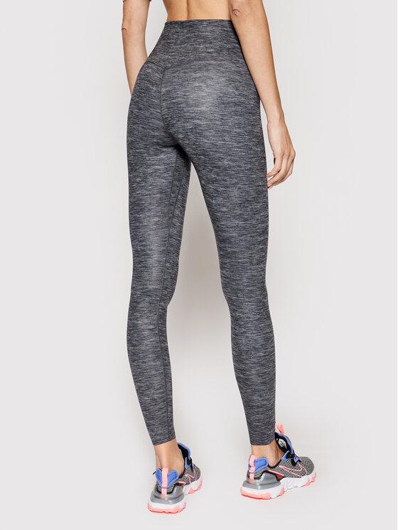 Nike Nike Legginsy One Luxe Tight CD5915 Szary Slim Fit