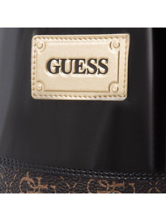Guess Guess Gumicsizma FLSSY3 RUB11 Barna