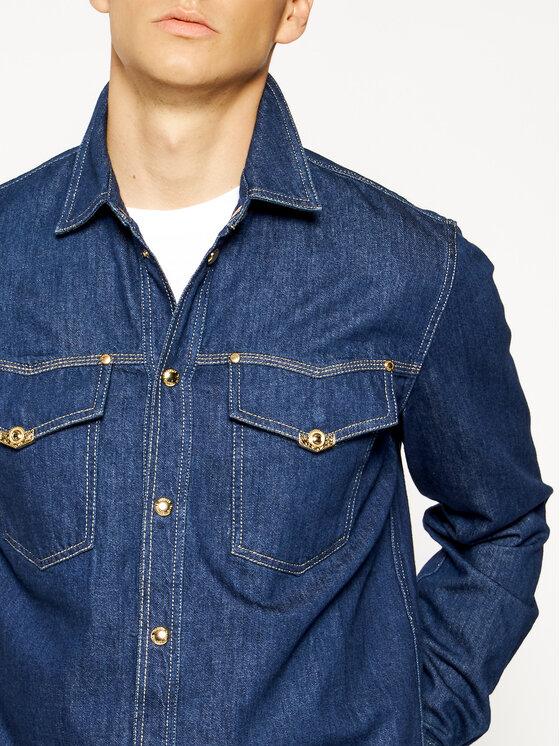 Versace Jeans Couture Versace Jeans Couture Košile B1GVA69I Tmavomodrá Regular Fit