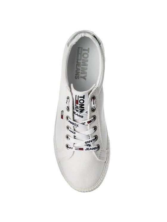 Tommy Jeans Tommy Jeans Sportbačiai Casual Sneaker EN0EN00125 Balta