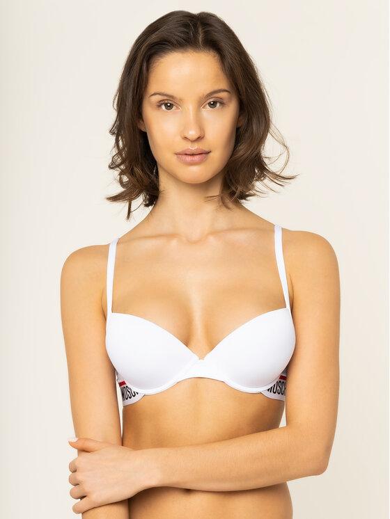 MOSCHINO Underwear & Swim MOSCHINO Underwear & Swim Biustonosz push-up A4613 9014 Biały