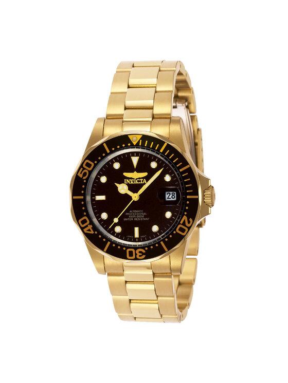 Invicta Watch Laikrodis 89290B Auksinė