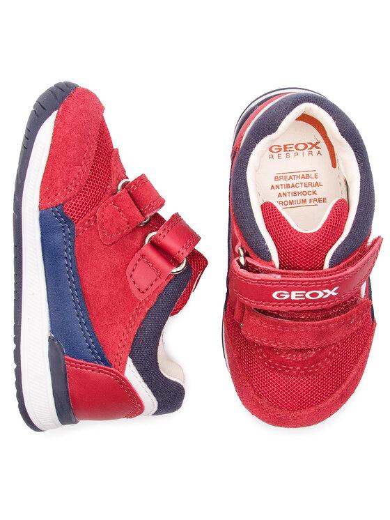 Geox Geox Laisvalaikio batai B Rishon B. A B840RA 02214 C7MF4 M Raudona