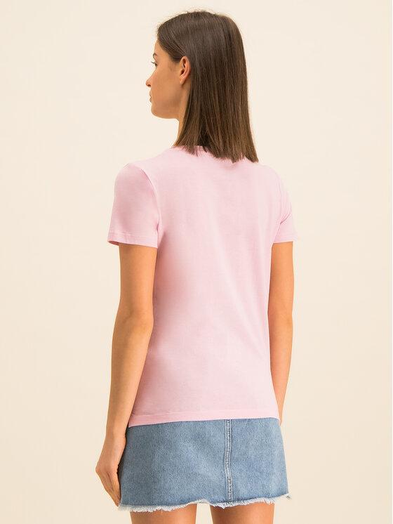 Guess Guess Póló Roxy W01I0J JA900 Rózsaszín Regular Fit