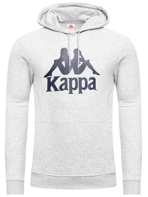Kappa Kappa Bluza Taino 705322 Szary Regular Fit