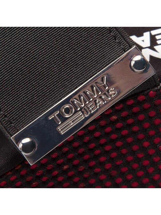 Tommy Jeans Tommy Jeans Σανδάλια Material Mix Wedge Sandal EN0EN00048 Κόκκινο