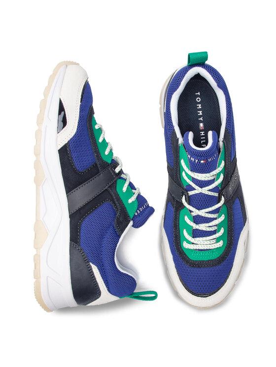Tommy Hilfiger Tommy Hilfiger Sneakers Fashion Mix Sneaker FM0FM02027 Dunkelblau
