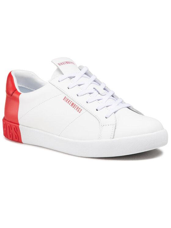 Bikkembergs Laisvalaikio batai Saul B4BKM0169 Balta