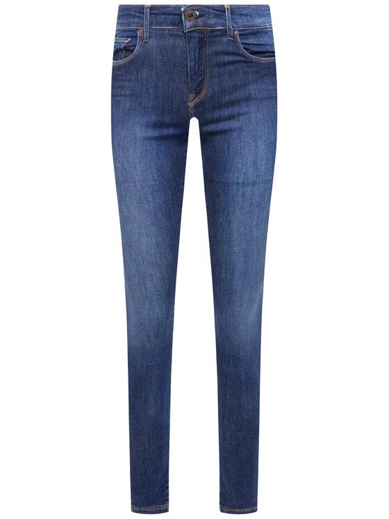 Pepe Jeans Pepe Jeans Skinny Fit džíny Zoe PL203616 Tmavomodrá Skinny Fit
