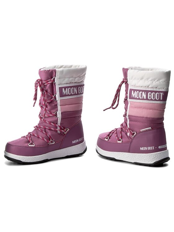 Moon Boot Moon Boot Hótaposó Quilted Jr Wp 34051500004 Rózsaszín