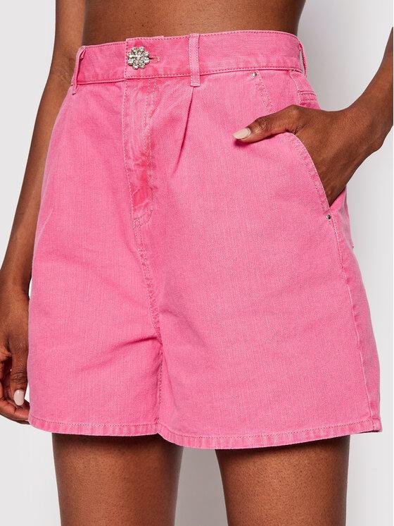 Custommade Džinsiniai šortai Nola 212510701 Rožinė Regular Fit