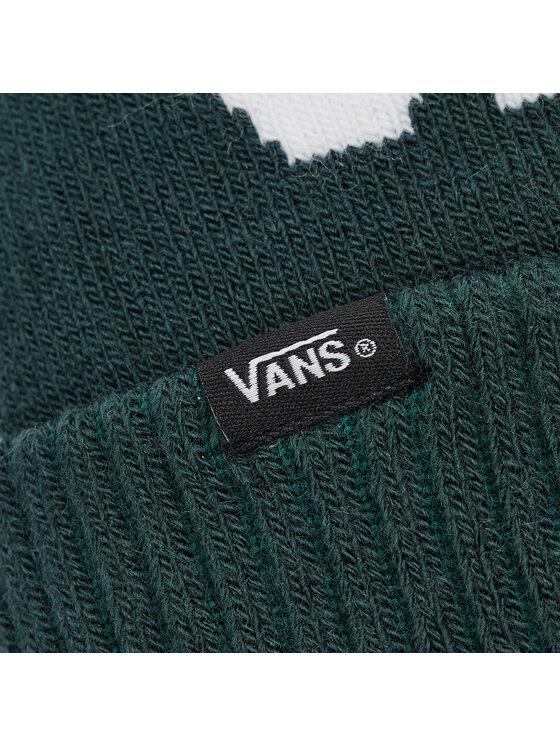 Vans Vans Czapka Stripe Pom VN0A4SFOPRM1 Zielony