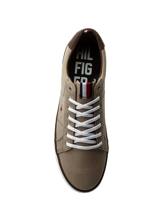 Tommy Hilfiger Tommy Hilfiger Tenisówki Iconic Long Lace Sneaker FM0FM01536 Brązowy