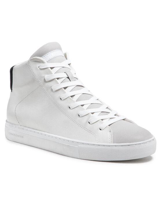 Crime London Laisvalaikio batai Low Top Essential 11501PP2.10 Balta