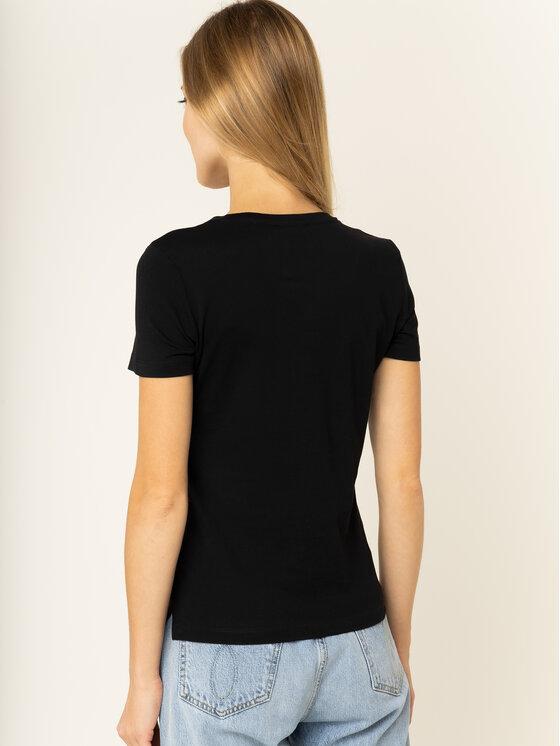 Guess Guess T-Shirt Breathtaker Tee W01I91 JA900 Μαύρο Regular Fit