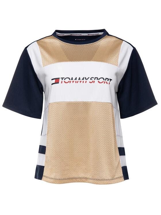 Tommy Sport Tommy Sport T-Shirt S10S100194 Bunt Regular Fit