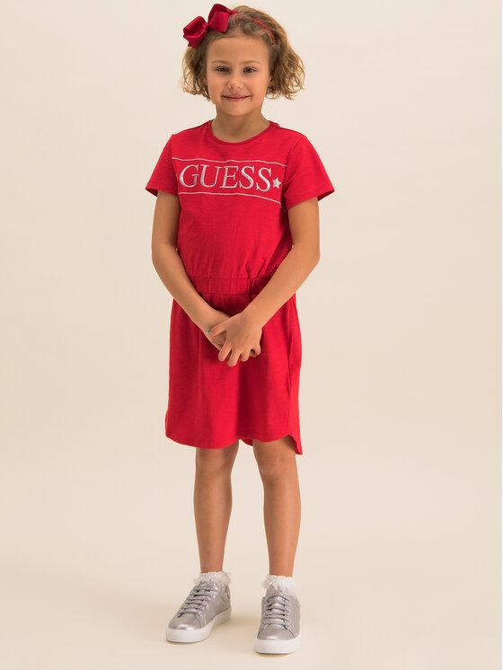 Guess Guess Kasdieninė suknelė J01K44K8660 Raudona Regular Fit