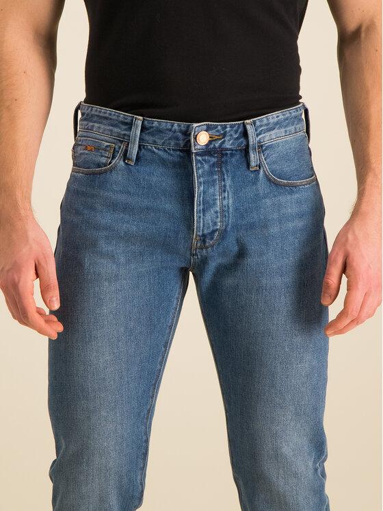 Emporio Armani Emporio Armani Jeans Slim Fit 6G1J75 1DIAZ 0943 Blu scuro Slim Fit