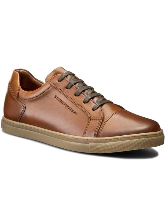 TOMMY HILFIGER TOMMY HILFIGER Sneakers Charlton 1A FM56821573 Marron