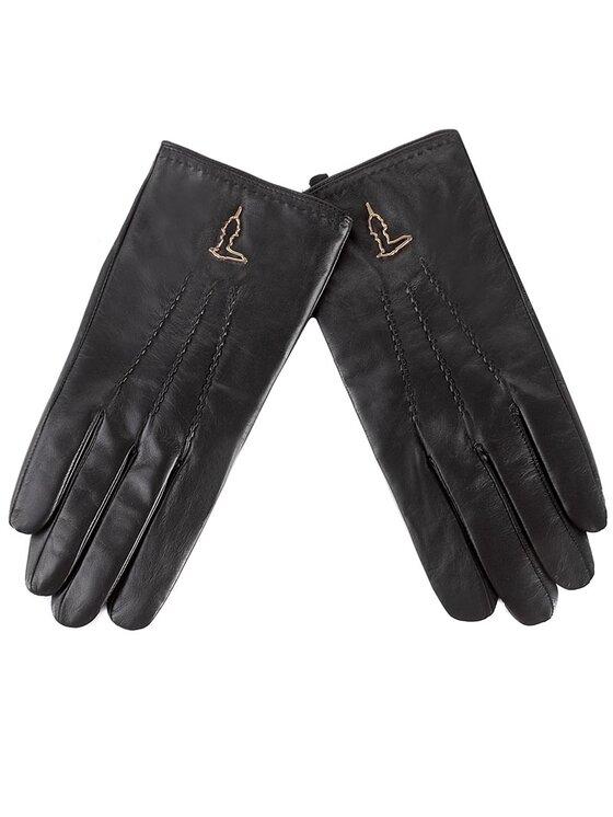 Trussardi Trussardi Rękawiczki Damskie Gloves 57Z00008 Czarny