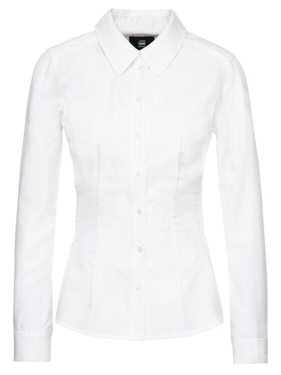 G-Star Raw G-Star Raw Koszula D14588-9290-110 Biały Slim Fit