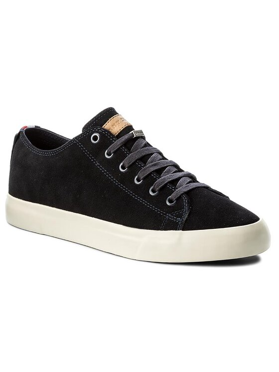 Tommy Hilfiger Tommy Hilfiger Πάνινα παπούτσια Walter 2B FM0FM01086 Σκούρο μπλε