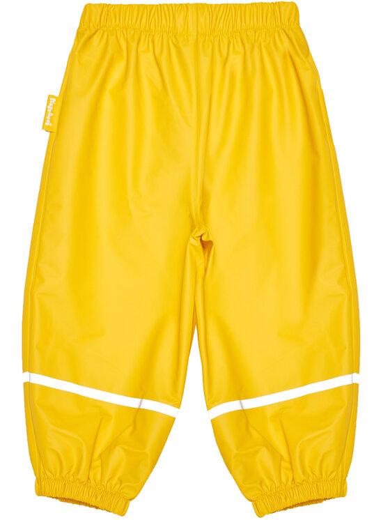 Playshoes Playshoes Spodnie materiałowe 405421 M Żółty Regular Fit