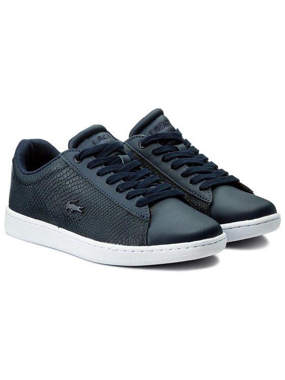 Lacoste Lacoste Sneakersy Carnaby Evo 317 3 Spw 7-34SPW0008003 Tmavomodrá