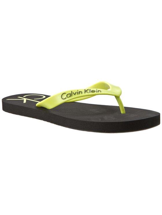 Calvin Klein Calvin Klein Джапанки Mini Ck Flip Flop K9MC084043 Черен
