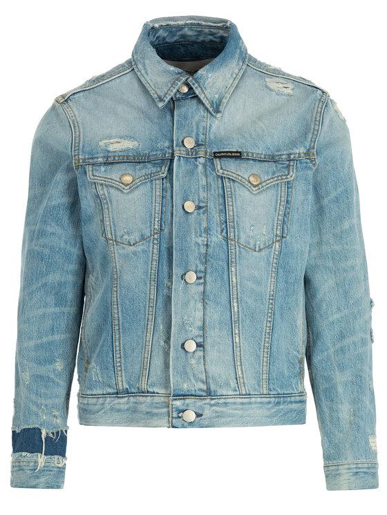 Calvin Klein Jeans Calvin Klein Jeans Kurtka jeansowa J20J211453 Niebieski Regular Fit